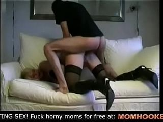 German mommy screwed in her rump!