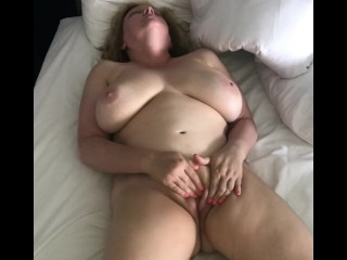Horny bare wifey massages Her coochie to ejaculation - insatiable Homemade
