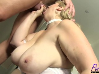 Titan tow-haired BBW Lila superb gets fucked
