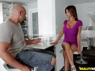 Jmac pummels Alexis Fawx Right On The Kitchen Table
