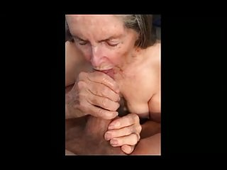 Granny Makes Handjob be expeditious for corrosion Sperm 01