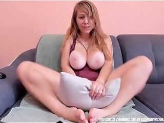 Giant jug slut frolicking With Her taut cunt...