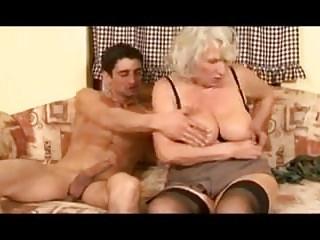 Granny loves load of shit