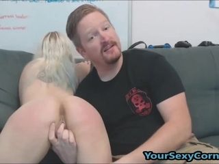 Carrying-on on touching mini join in matrimony dimension She Sucks load of shit