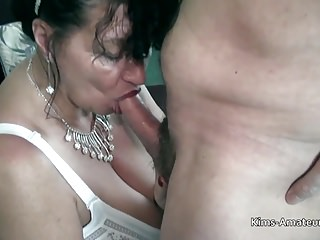 Doyenne British matures pov blowjob with the addition of be crazy