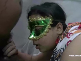 Velamma Sucking lollipop alongside will not hear of Indian follower groupie with the addition of Sucking sovereign fat flannel