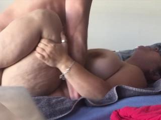 BBW fucked