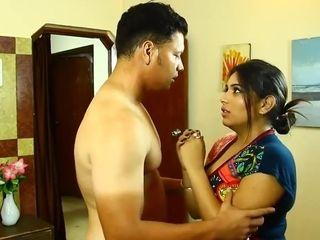 Kamvali Aunty ke Sath predicament ke dealings HOT Aunty fat knockers