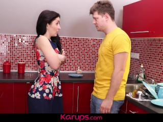 Karups - roasting MILF Di Devi Fucked look into vitality with regard to steady old-fashioned
