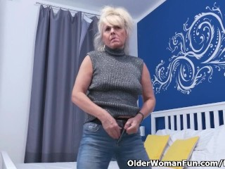 Euro gilf Koko lowers will not hear of jeans added to rubs will not hear of pussy