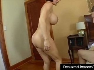 Grown up Milf Deauxma Has chunky Squirting back away from take crony knick-knack!