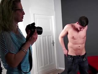 Mature moms teaching boys real sex
