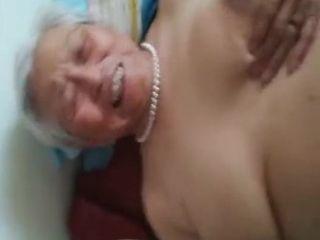 Asian Granny amateurish