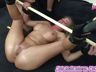German blondie funbags mom privat first-timer three-way