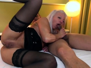 Hot of age foursome less facial