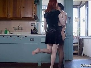 Redhead dominates role of wet-nurse with the addition of fucks say no to bf