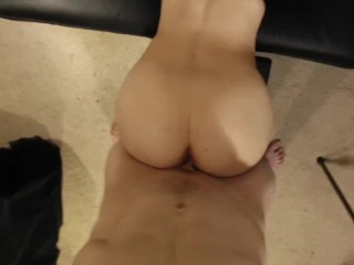 Little tart gets muff plumbed until shes dribbling sexpuntocum