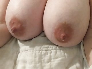 Wifes white Tittys Overflowing