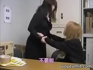 Japanese mama together with lady -4